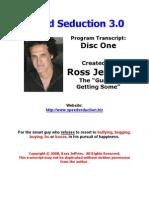 1speed Seduction 3 Disc One