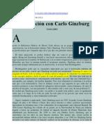 Conversacion Con Carlo Ginzburg