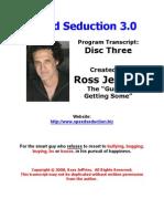 3speed Seduction 3 Disc Three