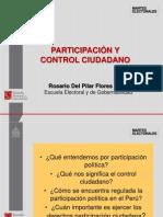 Derechos de Participacion y Control Ciudadano