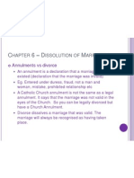 chapter 6  dissolution of marriage b