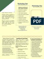 Brochure Curso Ventas