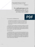 Epidemiologia en Servicios de Salud