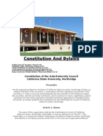 CSUN IFC By-Laws