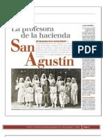 La profesora de la Hacienda San Agustín