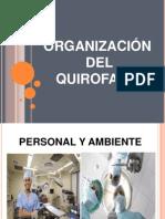 Organizacion Del Quirofano