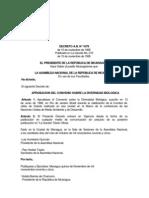 Aprobacion del Convenio sobre la Biodiversidad Biologica - T-1079.pdf