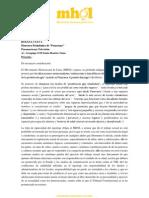 MHOL exige rectificación y disculpas públicas de Panorama por reportaje homofóbico
