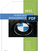 Hr-policies Bmw Report