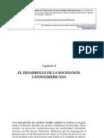 DESARROLLO DE LA SOCIOLOGÍA