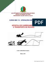 Apostila Carregamento e Transporte de Rocha 30-03-2011