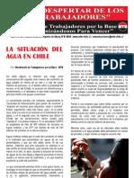 El Despertar de los Trabajadores - La situación del agua en Chile
