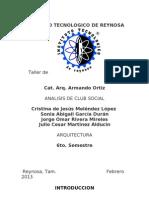 Analisis de Club Social