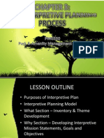 CHAPTER 3 - The Interpretive Planning Process