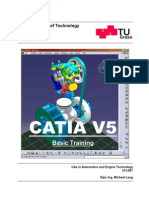 Catia v5 Basic Training English Cax 2012