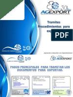 Tramites y Procedimietnos Para Exportar Ece-usac 24.10.2012