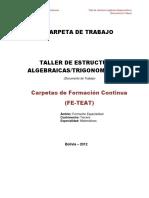 Carpeta Taller de Estructuras Algebraicas