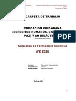 Carpeta Educación ciudadana y su didáctica