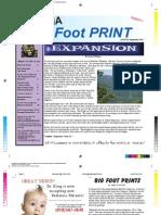 Big Foot Print AUG-Sept 2012