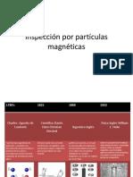 Inspección por partículas magnéticas