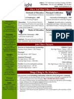 Dr. Mark Knight Resume