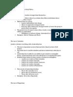 Leadership Week Three Study Notes –(2)