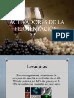 ACTIVADORES DE LA FERMENTACIÓN