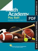 Math Academy Play Ball