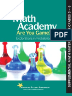 Math Academy Are You Game