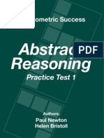 Psychometric Success Abstract Reasoning - Practice Test 1