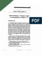 Redescubriendo a Chayanov hacia un neopopulismo ecológico