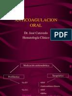 Anticoagulacion Oral