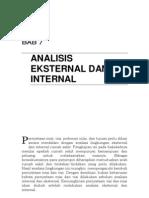 Aspek_bab Vii - Analisis Eksternal Dan Internal