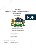 Emerging Contractor Development-kznworks.gov.Za