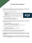 Depreciation Notes - Advanced Accounting