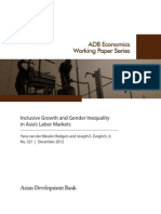 Inclusive Growth and Gender Inequality