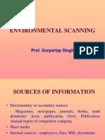 3 Environmental Scanning