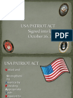 U.S.A. Patriot Act