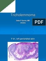 Tricholemmoma,.F 61, Left Periorbital Skin. PPT