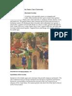 A Medieval Garden for Santa Clara University