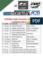 Calendario 1^ e 2^ Serie Torneo Province 2013 Aggiornato Al 08-02-2013.Doc