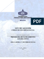 To-LEY_14!12!1956 - Codigo de Seguridad Social - Vigente Con Derogaciones