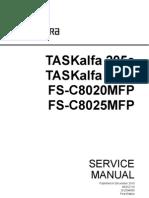 kyocera Fs c8020mfp Fs c8025mfp Sm Eng Rev0