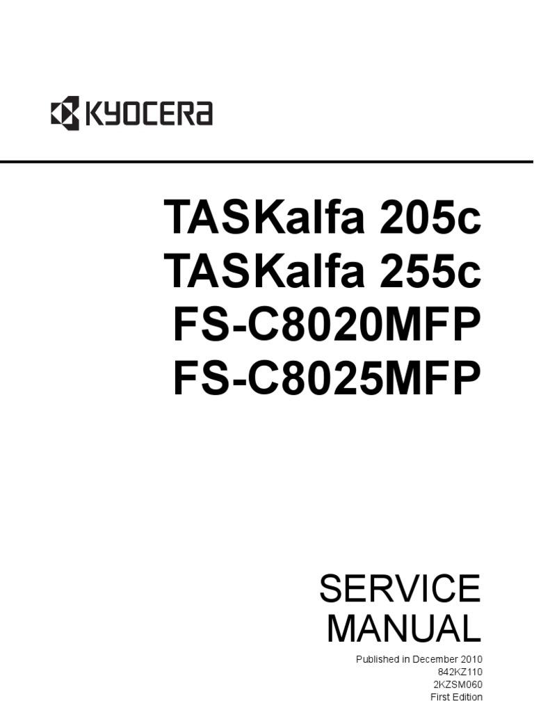 kyocera Fs c8020mfp Fs c8025mfp Sm Eng Rev0 | Microsoft Windows