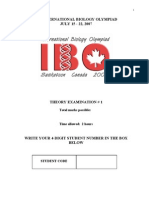 IBO 2007 Canada-Theory Exam(part 2)