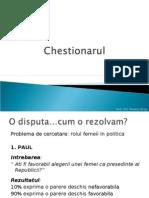 Chestionarul
