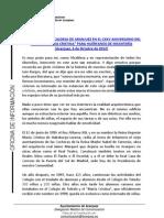PALABRAS ALCALDESA EN EL CXXV ANIVERSARIO DEL COLEGIO MARÍA CRISTINA