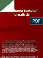 COEZIUNEA textului jurnalistic