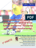 Factores Tacticos en Futbol Moderno
