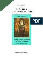 Avva Dorotei - Invataturi de Suflet Folositoare